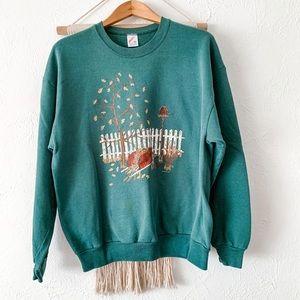 Vintage Jerzees Autumn Harvest Grandma Sweatshirt